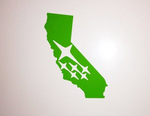 Image of California State Subaru Sticker