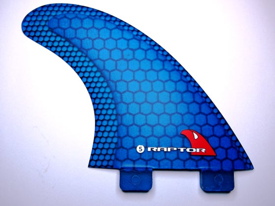Image of R5 Carbon Net - Blue