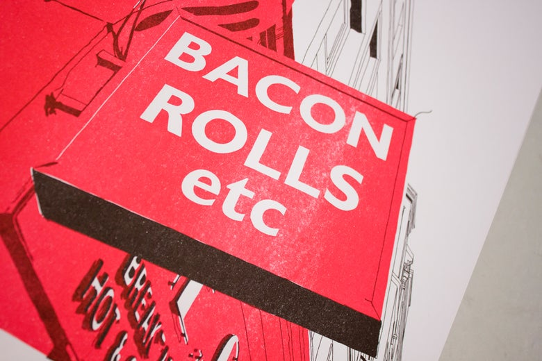 Image of Bacon Rolls etc, Easter Road