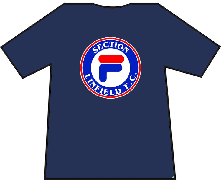 Linfield Section F Casuals T Shirts Ranger Britain T