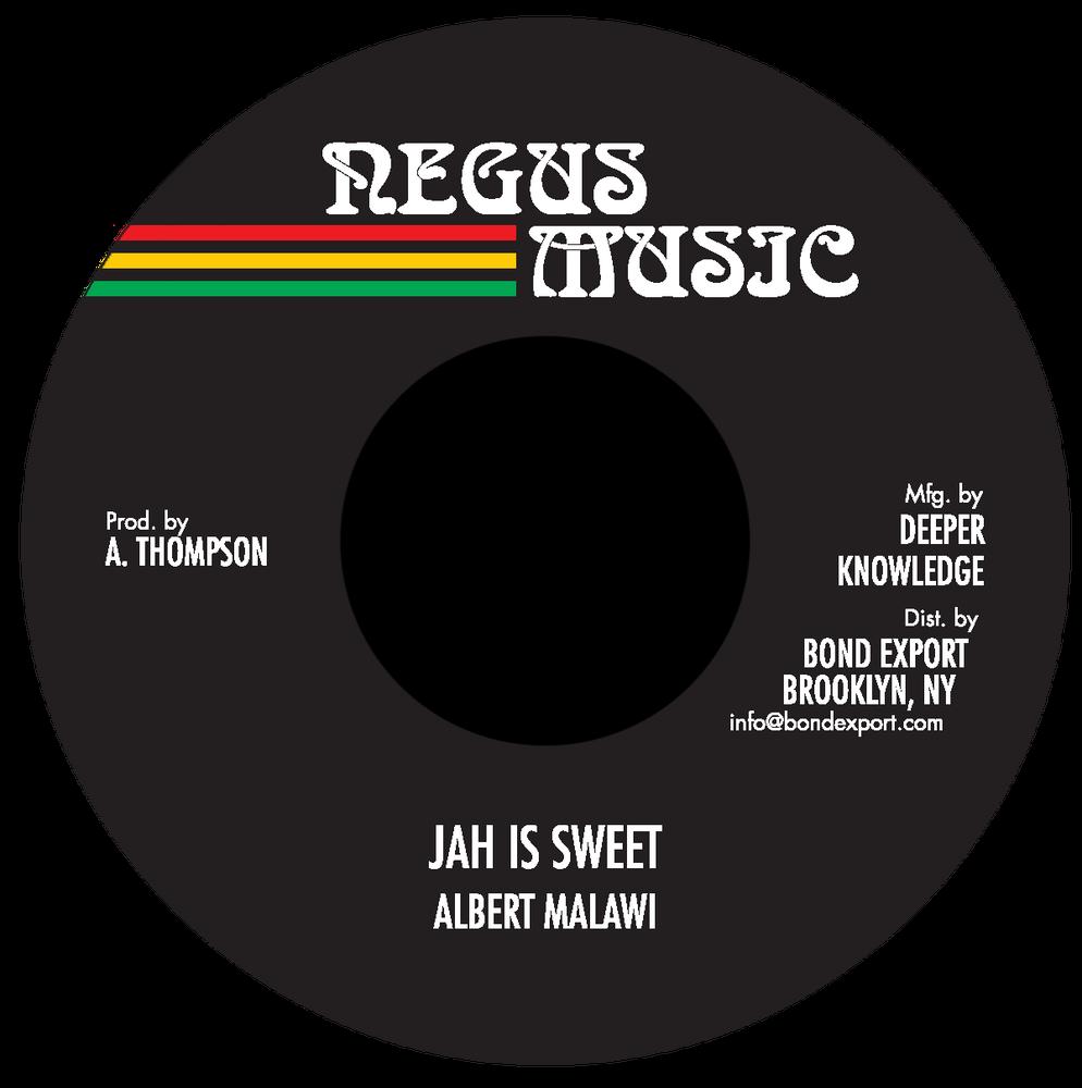 "Image of Albert Malawi - Jah Is Sweet 7"" (Negus Music)"