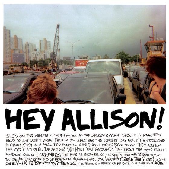 Image of Jeff Rosenstock - Hey Allison b/w I'm So Gross