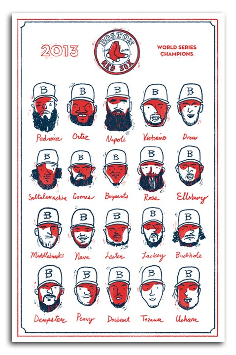 Image of Red Sox World Series Team 2013