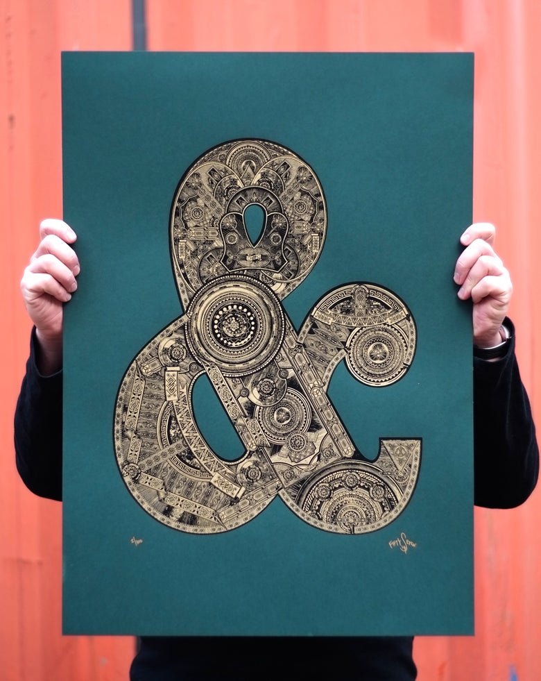 Image of The Illustrated Letter Project: '&'