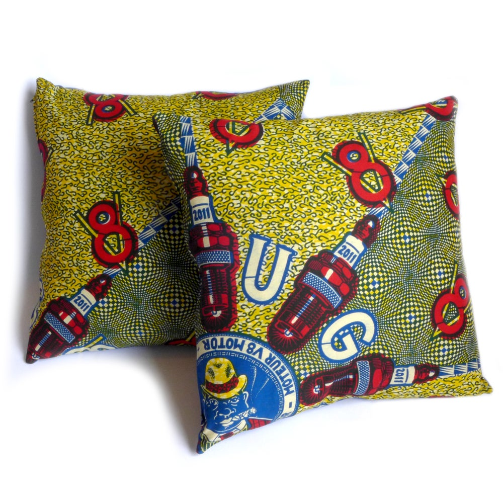 Image of Bougies cushion cover
