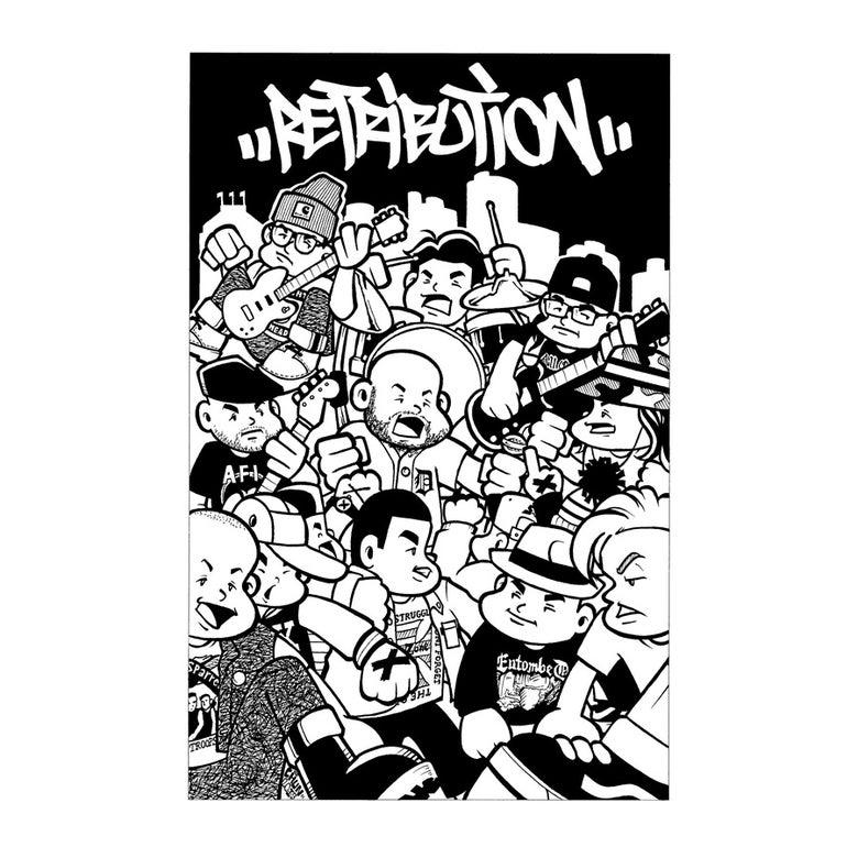 Image of Retribution- Demo 2 Cassette