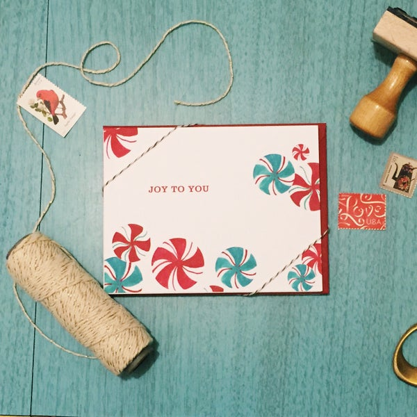 Image of Joy to You holiday card set