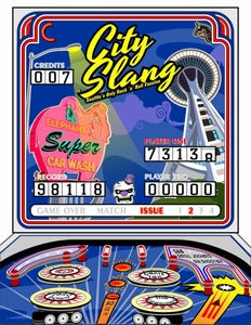 Image of CITY SLANG 'ZINE #2 - Seattle's Only Rock 'n' Roll Fanzine