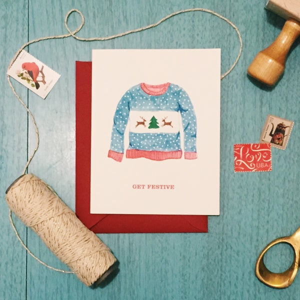 Image of Get Festive holiday card set