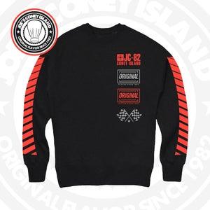 Image of JCI Sport Black (Red) Crewneck