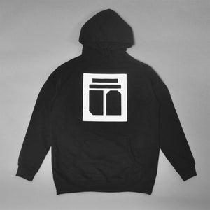 Image of ǝɔuɐʇsᴉsǝɹ punoɹƃɹǝpu∩/STONE 2 STONE Hoodie