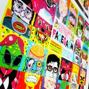 Image of FACEGASM: Uncut Production Sheet by 16 ARTISTS