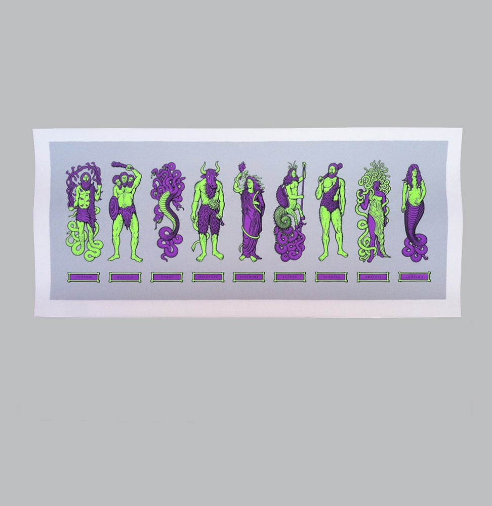 Image of Myth Monsters (purple/green)