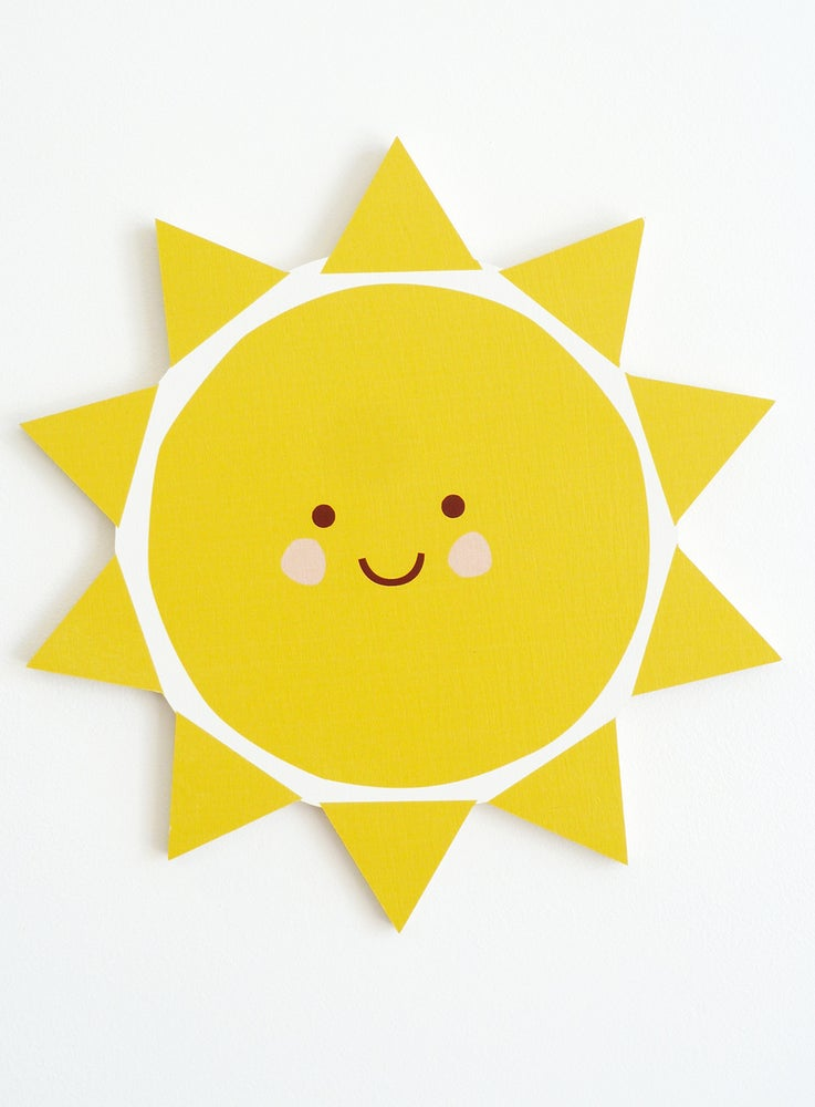 Image of SUNSHINE PLY WALL HANGING
