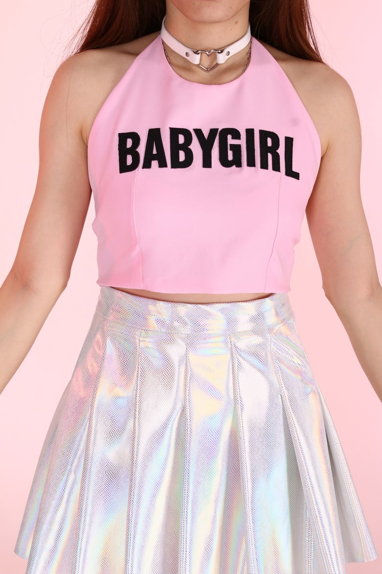 Image of Made To Order - Babygirl Halter Top