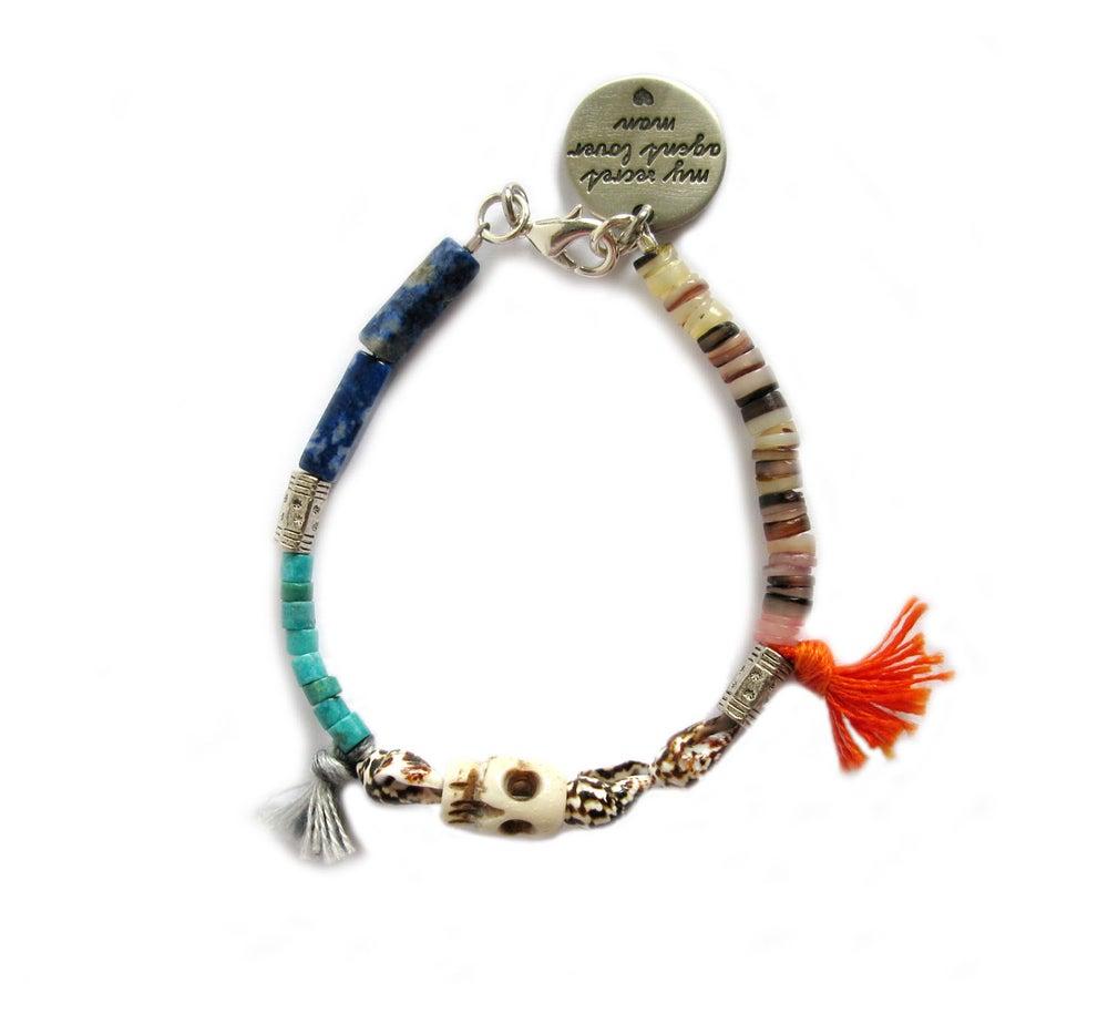 Image of Aloha Skull Bracelet