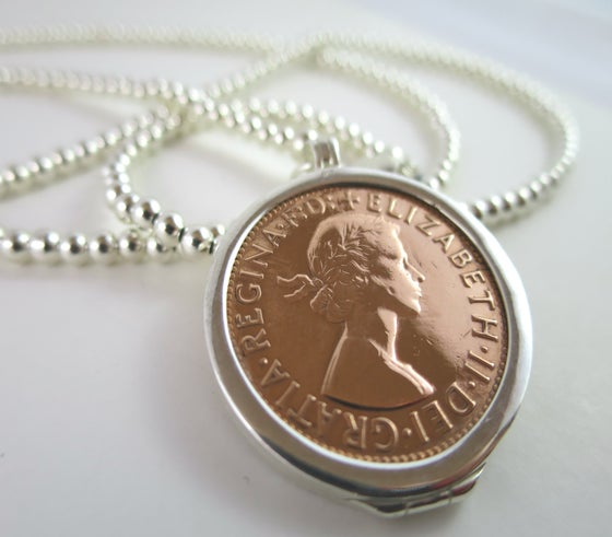 Image of N021-Sarago Penny         Necklace