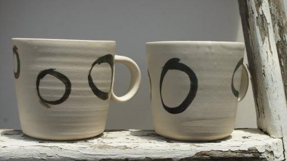 Image of Set of 2 beautiful Ceramic Mugs