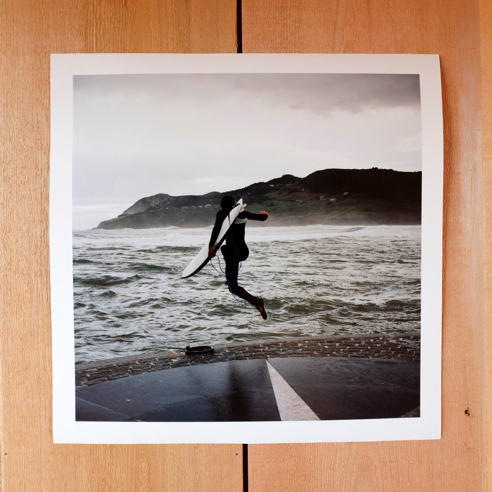 Image of Ryan Burch at Mundaka