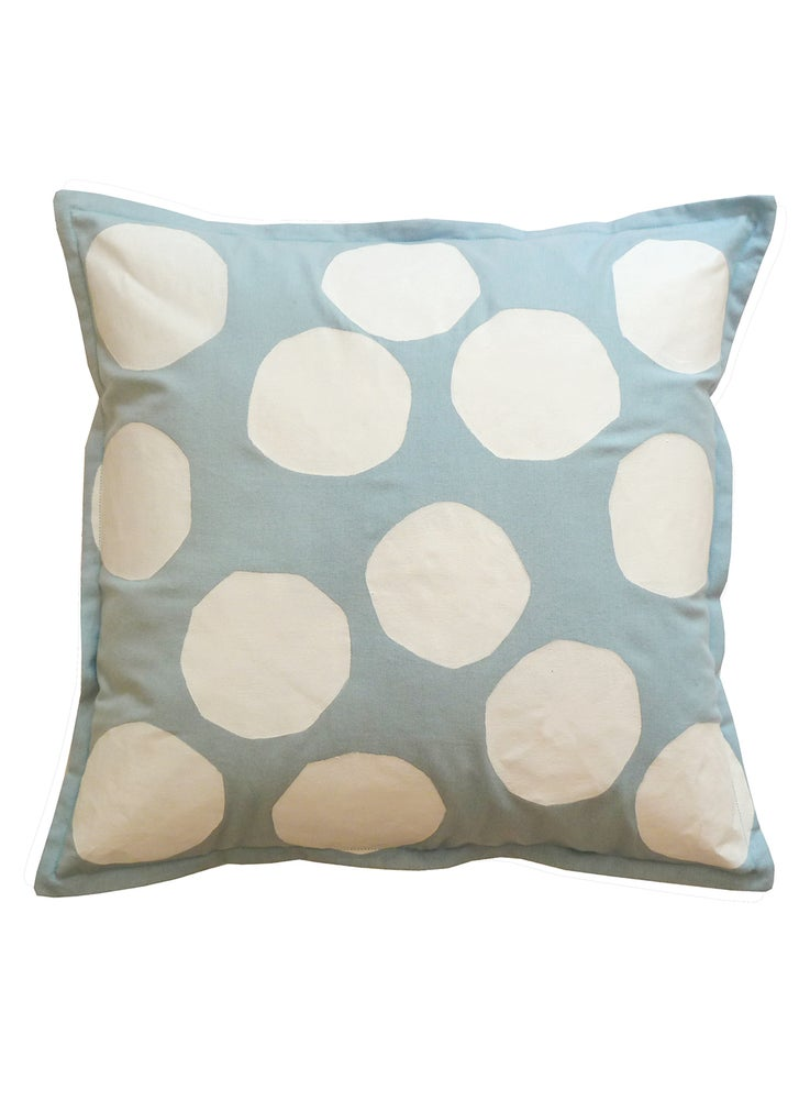Image of BLUE SPOT CUSHION