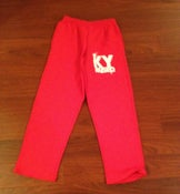 Image of KY Raised Red & White Sweatpants