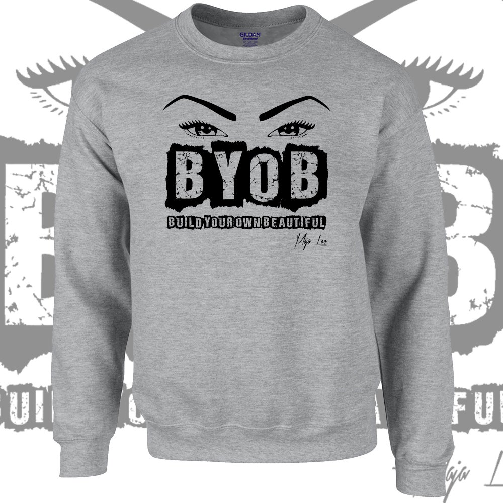 Image of BYOB Crewneck sweatshirt