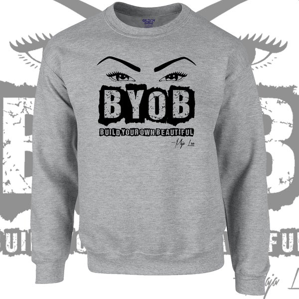 Image of BYOB Crewneck sweatshirt