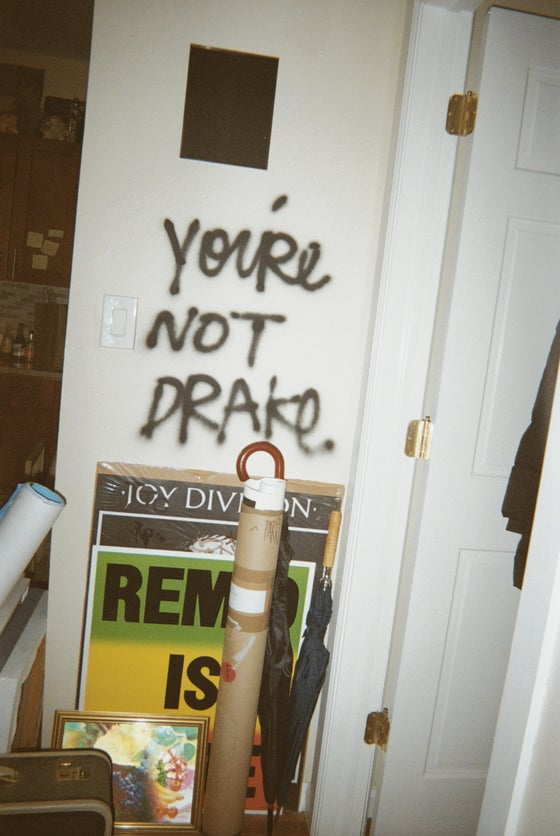 Image of You're not drake zine