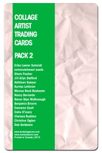 Image of Collage Artist Trading Cards, Pack Two