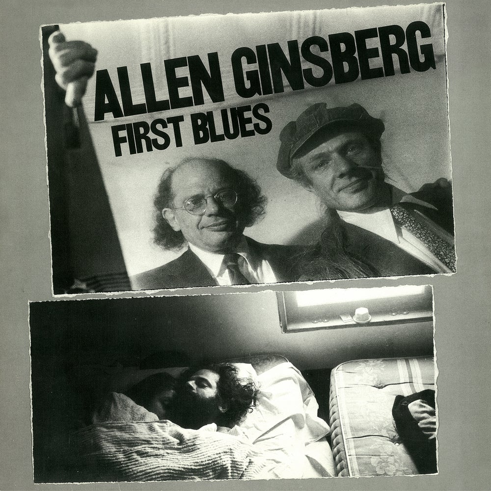 "Image of Allen Ginsberg -""First Blues"" Vinyl"