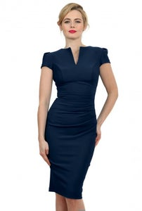 Image of bodycon dress - Navy