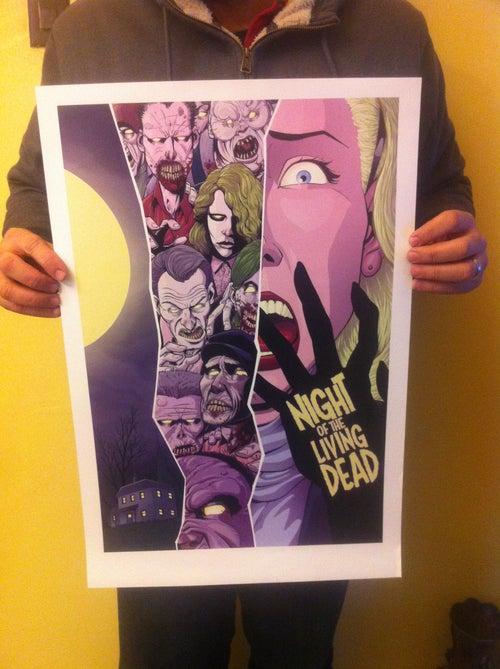 Image of Night Of The Living Dead (Color) by J-Wright