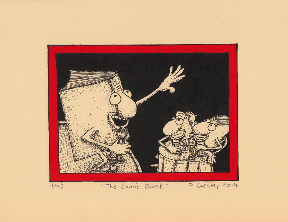 Image of The Comic Book