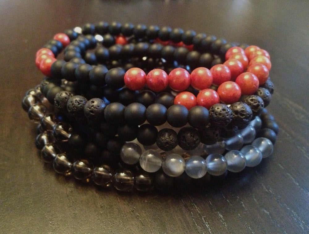 Image of Men's 6MM Infinity Bracelet