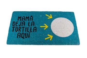 """Felpudos Maceta Colorá Felpudo """"Deja la Tortilla"""""""