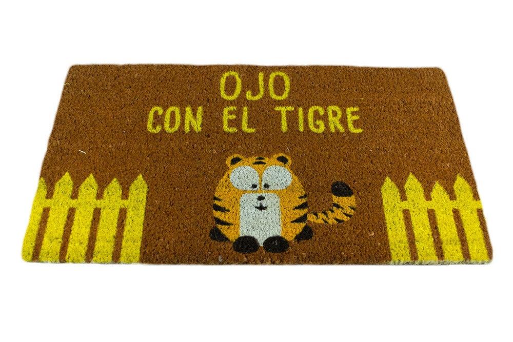 """Image of Felpudo """"Ojo con el Tigre"""""""