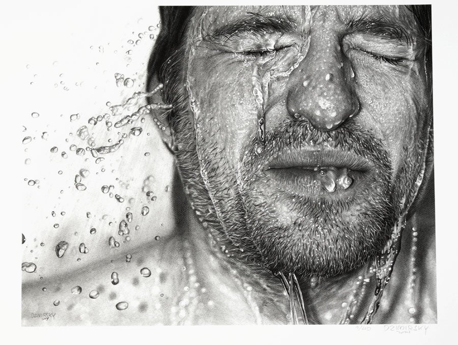 Image of Drawn Face VI