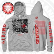 Image of Living legend - grey hoodie