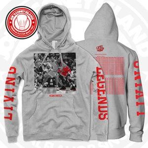 Image of Living legend - grey hoodie