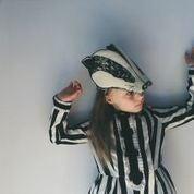 "image de Masque ""Animalesque"" de Sara Lowes. Blaireau"