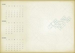 Image of October - November - December Single Poster
