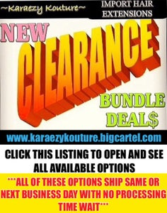 Image of GET IT OR FORGET ABOUT IT DEAL$ (LIMITED REDUCED OFFERS- NO PROCESSING TIME- READY TO SHIP)