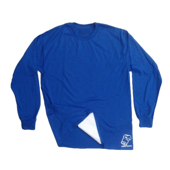 Image of Blue and white long sleeve Rolla Wear