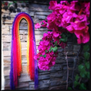 Image of Rainbow wall hanging
