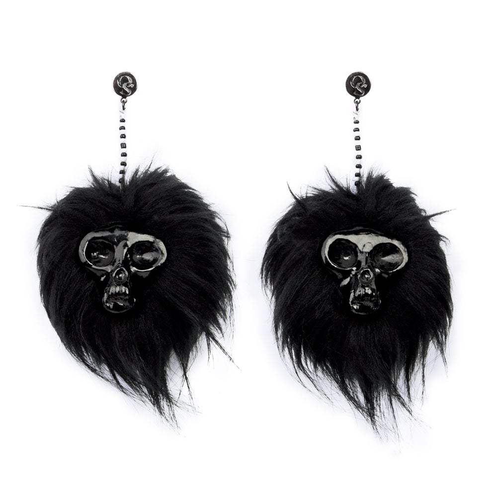 Image of Ghoul Earrings (Black)