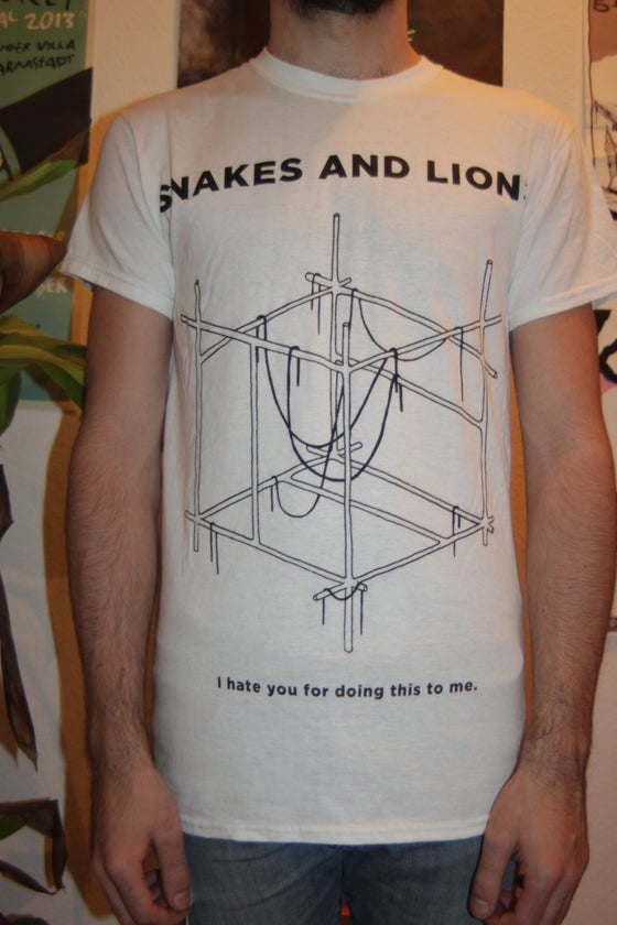 "Image of ""I hate you for doing this to me"" Shirt"