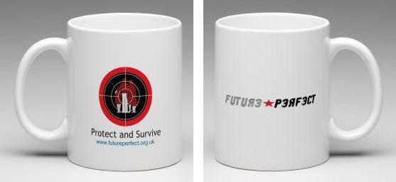 Image of Future Perfect - Protect and Survive Mug