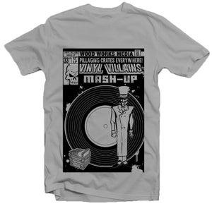 "Image of Vinyl Villains ""Pillaging Crates"" tee"