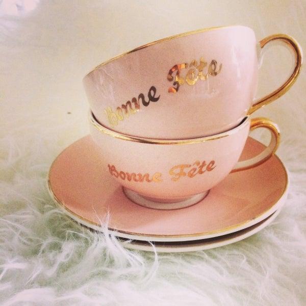 Image of pink tasses bonne fête
