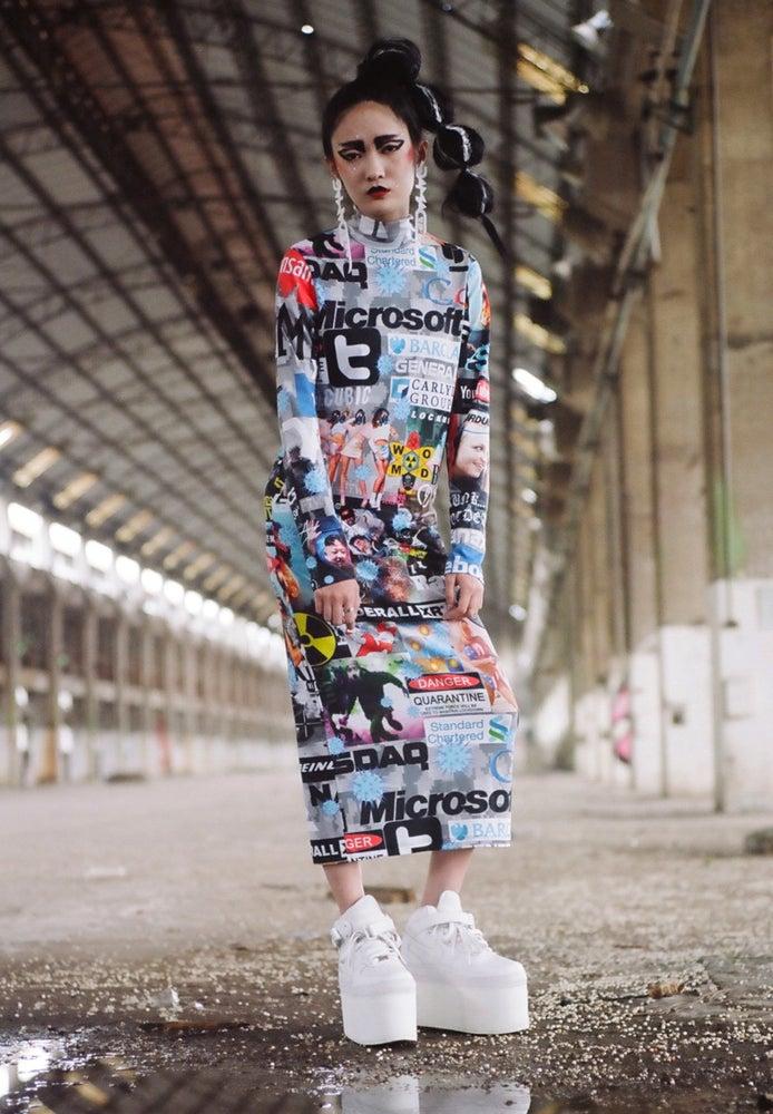 Image of DVMVGE FTW Corp. Maxi Dress